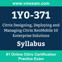 1Y0-371 Dumps Questions, 1Y0-371 PDF, CCP-M Exam Questions PDF, Citrix 1Y0-371 Dumps Free, CCP-M Official Cert Guide PDF
