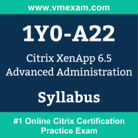 1Y0-A22 Dumps Questions, 1Y0-A22 PDF, CCAA - XenApp 6 Exam Questions PDF, Citrix 1Y0-A22 Dumps Free, CCAA - XenApp 6 Official Cert Guide PDF