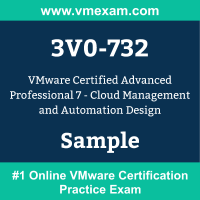 3V0-732 Braindumps, 3V0-732 Exam Dumps, 3V0-732 Examcollection, 3V0-732 Questions PDF, 3V0-732 Sample Questions, VCAP-CMA Design 2020 Dumps, VCAP-CMA Design 2020 Official Cert Guide PDF, VCAP-CMA Design 2020 VCE