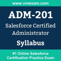 Salesforce ADM-201 Certification Exam Syllabus and Study