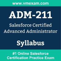 ADM-211 Dumps Questions, ADM-211 PDF, Advanced Administrator Exam Questions PDF, Salesforce ADM-211 Dumps Free, Advanced Administrator Official Cert Guide PDF