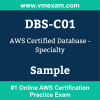 DBS-C01 Braindumps, DBS-C01 Exam Dumps, DBS-C01 Examcollection, DBS-C01 Questions PDF, DBS-C01 Sample Questions, Database Specialty Dumps, Database Specialty Official Cert Guide PDF, Database Specialty VCE