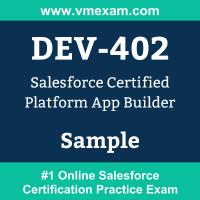 DEV-402 Braindumps, DEV-402 Exam Dumps, DEV-402 Examcollection, DEV-402 Questions PDF, DEV-402 Sample Questions, Platform App Builder Dumps, Platform App Builder Official Cert Guide PDF, Platform App Builder VCE