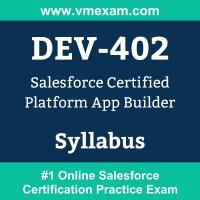 DEV-402 Dumps Questions, DEV-402 PDF, Platform App Builder Exam Questions PDF, Salesforce DEV-402 Dumps Free, Platform App Builder Official Cert Guide PDF