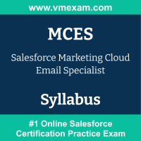 MCES Dumps Questions, MCES PDF, Marketing Cloud Email Specialist Exam Questions PDF, Salesforce MCES Dumps Free, Marketing Cloud Email Specialist Official Cert Guide PDF