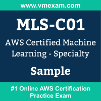 MLS-C01 Braindumps, MLS-C01 Exam Dumps, MLS-C01 Examcollection, MLS-C01 Questions PDF, MLS-C01 Sample Questions, Machine Learning Specialty Dumps, Machine Learning Specialty Official Cert Guide PDF, Machine Learning Specialty VCE