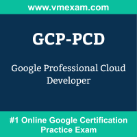 GCP-PCD: Google Professional Cloud Developer
