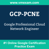 GCP-PCNE: Google Professional Cloud Network Engineer